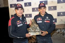 Carlos Sainz zafer dönüşü