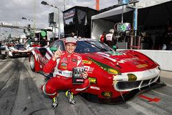 GTD pole winner #51 Spirit of Race Ferrari 488 GT3, GTD: Daniel Serra
