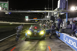 #15 3GT Racing Lexus RCF GT3, GTD: Jack Hawksworth, Scott Pruett, David Heinemeier Hansson, Dominik Farnbacher au stand