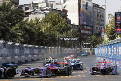 Сэм Бёрд и Алекс Линн, DS Virgin Racing, Николя Прост, Renault e.Dams
