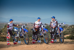 Jeremy Seewer, Arnaud Tonus and Shaun Simpson, Wilvo Yamaha Official MXGP Team