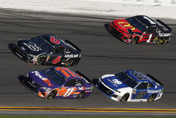 Denny Hamlin, Joe Gibbs Racing Toyota Alex Bowman, Hendrick Motorsports Chevrolet Camaro Trevor Bayne, Roush Fenway Racing Ford Fusion