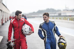 Жюльен Фальшеро, Arden International, и Дориан Бокколаччи, MP Motorsport
