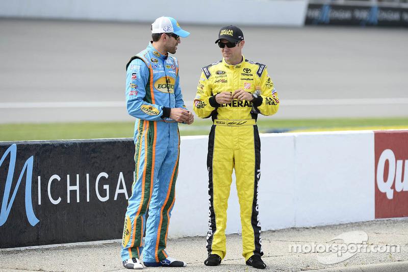 Aric Almirola en Matt Kenseth