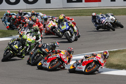 Start: Dani Pedrosa, Repsol Honda Team leads