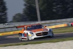 #29 SMS Seyffarth Motorsport Mercedes SLS AMG GT3: Hubert Haupt, Yenci Michael