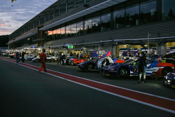 Ready for the night qualifying session