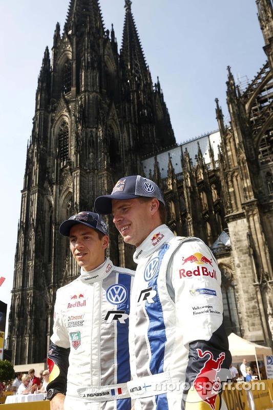 Julien Ingrassia, Miikka Anttila, Volkswagen Polo WRC  Volkswagen Motorsport