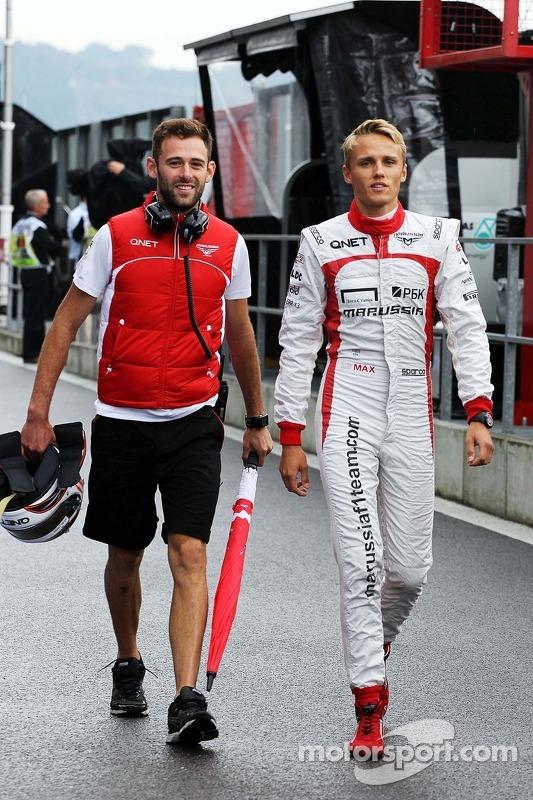 Max Chilton, Marussia F1 Team com Sam Village, Marussia F1 Team