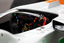 Sahara Force India F1 VJM06 steering wheel
