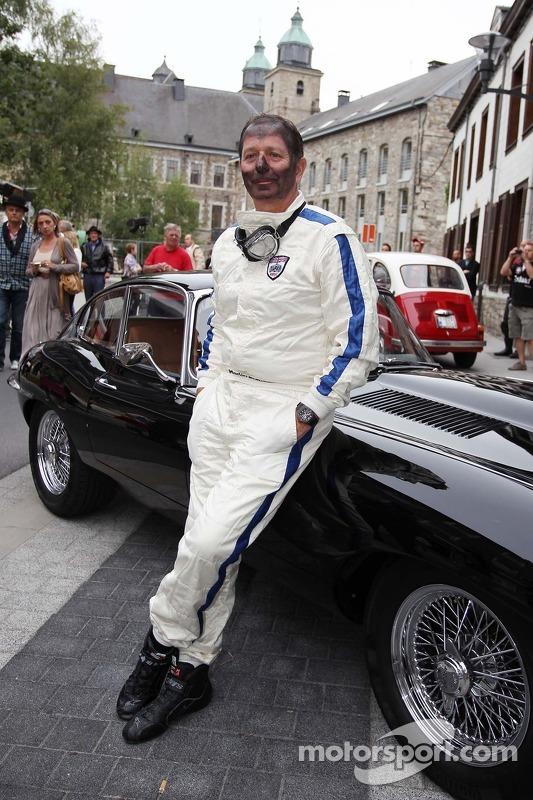 Martin Brundle, Sky Sports no no evento Back In Time com Shell