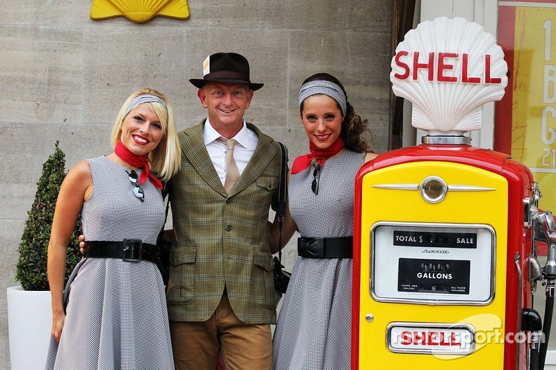 Clive Mason, Getty Images Photographer at the Back In Time with Shell event