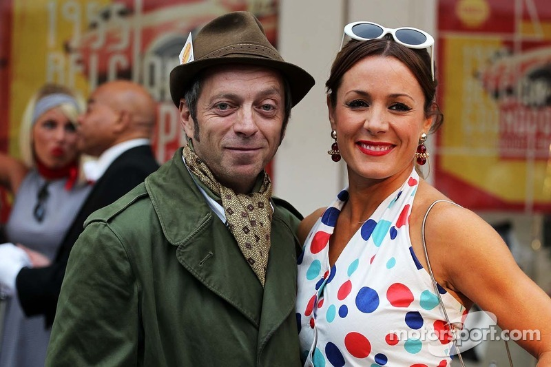 Mark Thompson, Getty Images Photographer Natalie Pinkham, Sky Sports Presenter at the Back In Time w