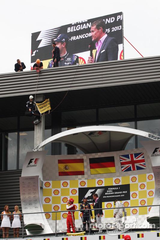 Fernando Alonso, Ferrari, segundo