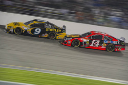 Marcos Ambrose and Mark Martin