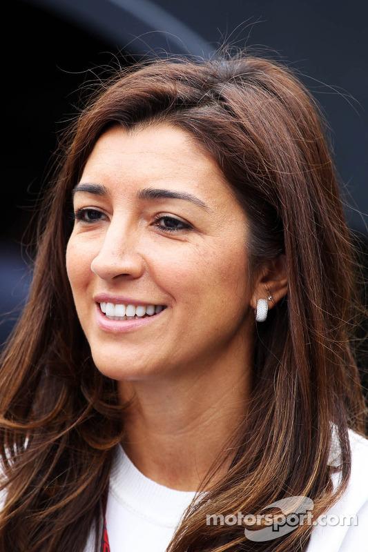 Fabiana Flosi, noiva de Bernie Ecclestone, CEO Formula One Group