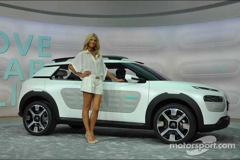 Citroen Cactus Concept At Frankfurt International Motor Show