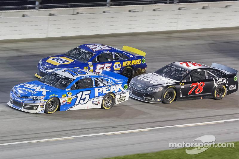Clint Bowyer, Martin Truex Jr., Kurt Busch