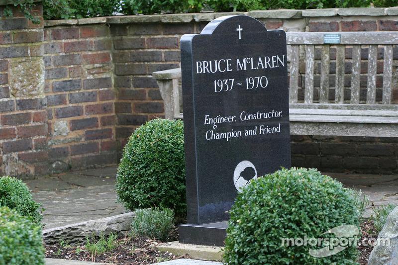 Bruce McLaren memorial garden