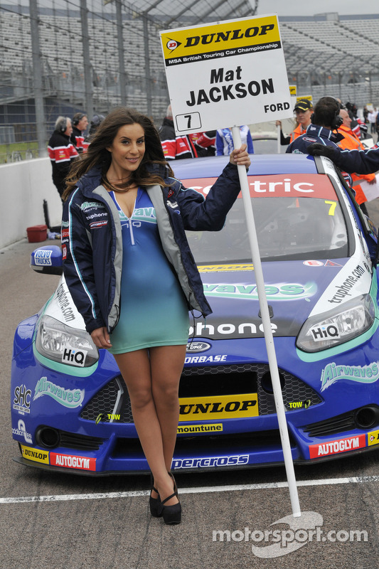 Airwaves Racing Grid Girl