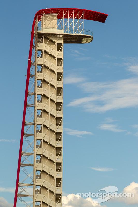 Torre na Circuito das Américas