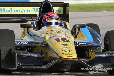 Jack Hawksworth testa com a Rahal Letterman Lanigan Racing