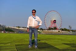 Bruno Correia, piloto do carro de Segurança