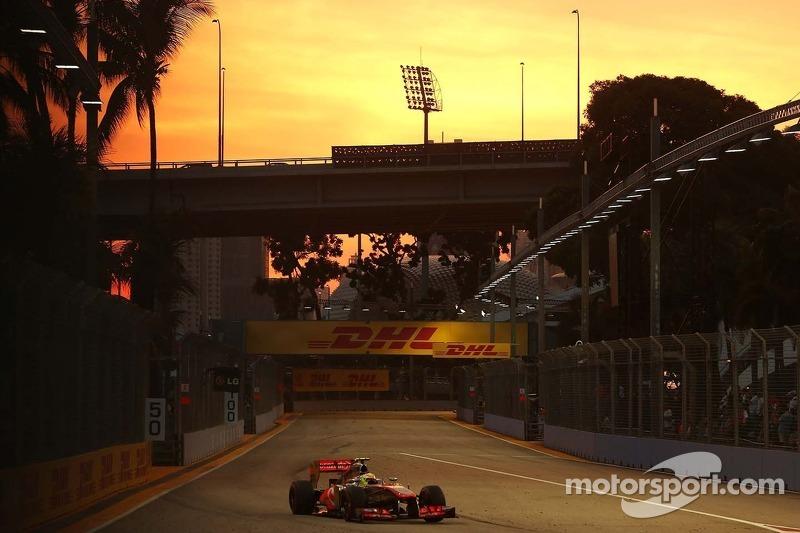 Sergio Perez, McLaren Mercedes 21