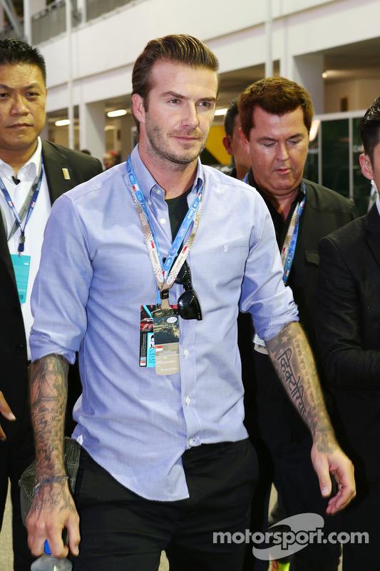 David Beckham, ex-jogador de futebol
