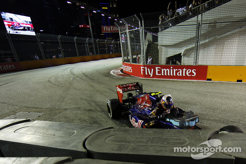 2013 - 24e tour : L'accident de Daniel Ricciardo