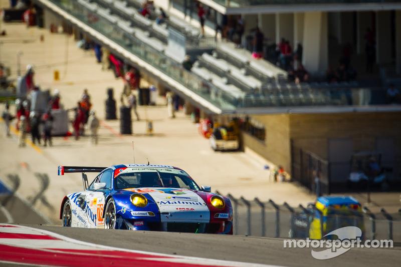#76 IMSA Performance Matmut Porsche 911 GT3 RSR: Raymond Narac, Jean-Karl Vernay