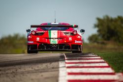 #51 AF Corse Ferrari 458 Italia: Gianmaria Bruni, Giancarlo Fisichella