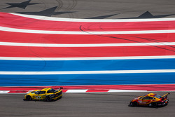 #4 Corvette Racing Chevrolet Corvette C6 ZR1: Oliver Gavin, Tom Milner, #30 NGT Motorsport Porsche 911 GT3 Cup: Henrique Cisneros, Sean Edwards