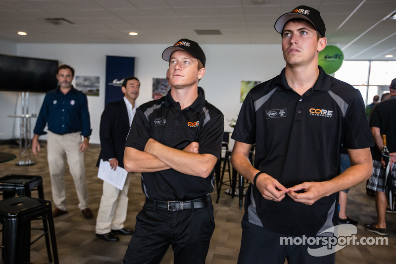 Amerikaanse coureurs bij het Le Mans-evenement: Patrick Long en Colin Braun