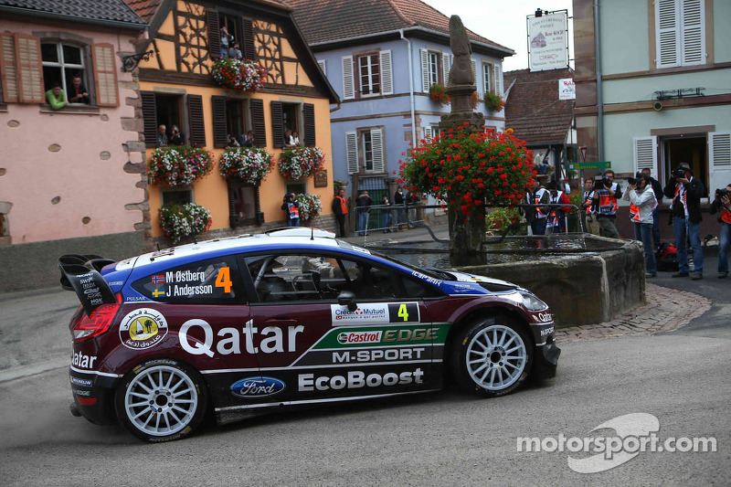 Mads Ostberg y Jonas Andersson, Ford Fiesta RS WRC, Qatar M-Sport World Rally Team