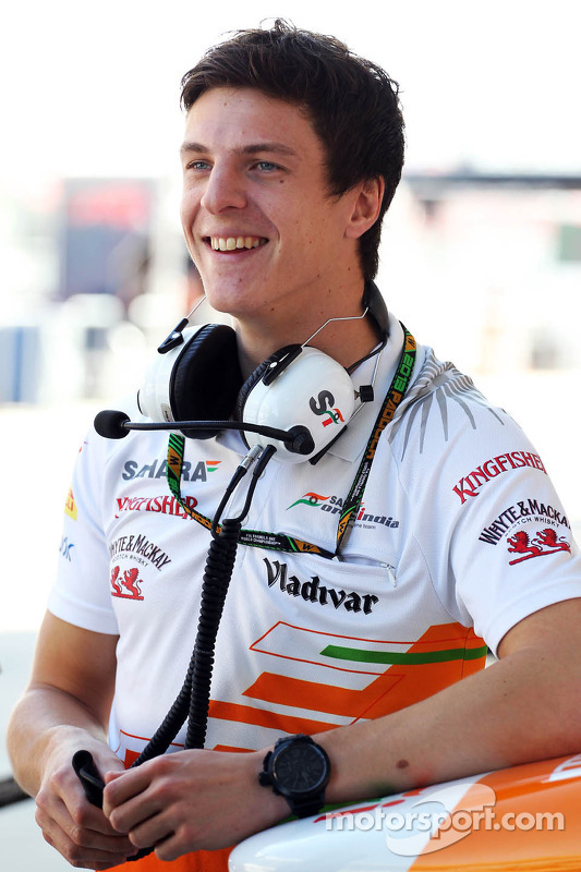 James Calado, Sahara Force India Terceiro piloto
