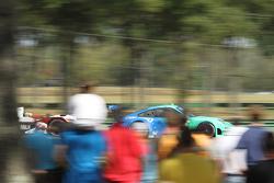 #17 Team Falken Tire, Porsche 911 GT3 RSR: Wolf Henzler, Bryan Sellers #6 Muscle Milk Pickett Racing HPD ARX-03a Honda: Lucas Luhr, Klaus Graf