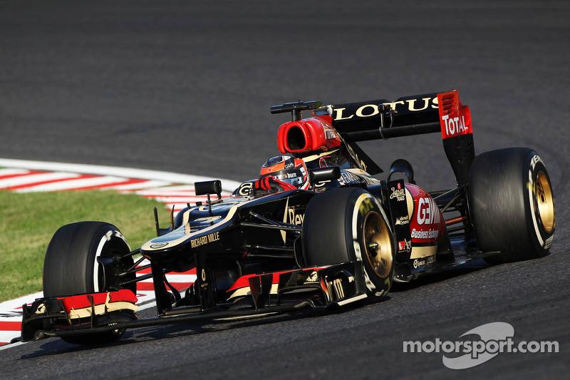 Lotus E21, à moteur Renault (2013)