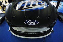 New front splitter on the Penske Racing Ford