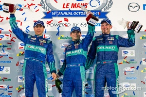 GT podium: class winners Bryan Sellers, Wolf Henzler, Nick Tandy