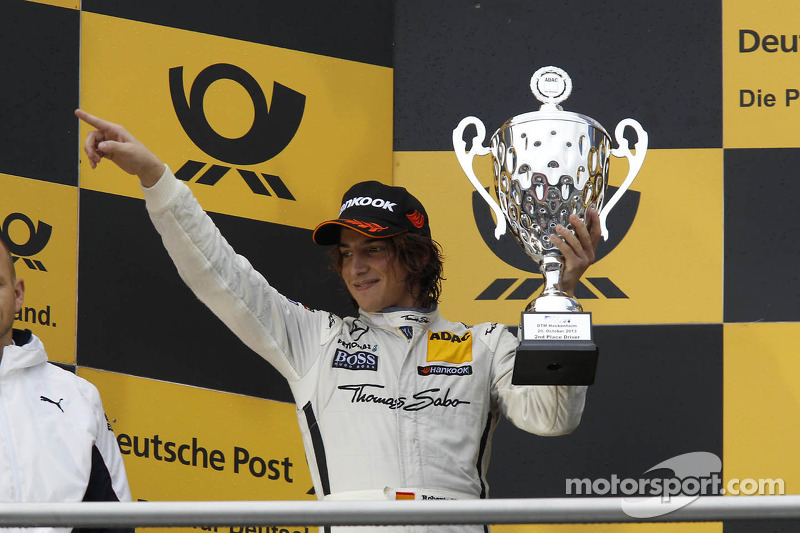 2e plaats Roberto Merhi, Mercedes AMG DTM-Team HWA DTM Mercedes AMG C-Coupe