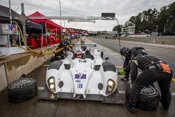 Pit stop for #7 BAR 1 Motorsports Oreca FLM09 Oreca: Rusty Mitchell, Tomy Drissi, James French
