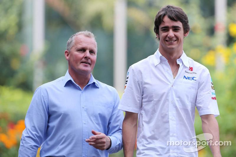 Johnny Herbert, Sauber F1 Team