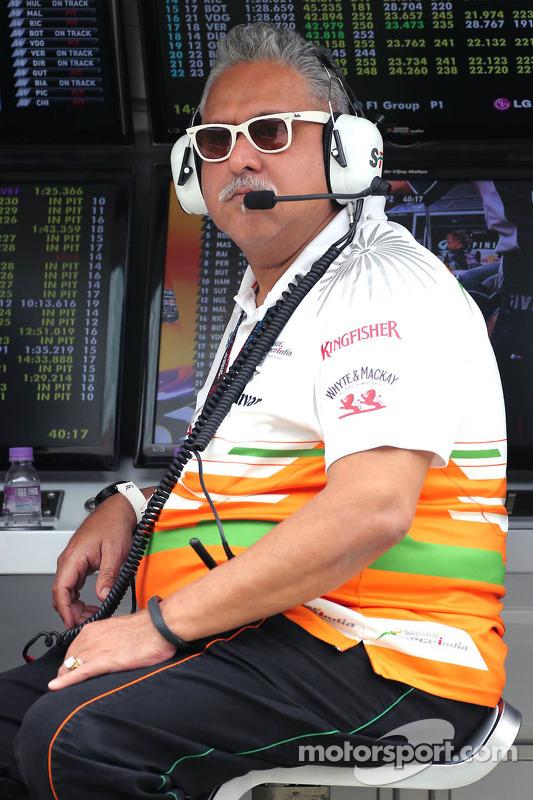 Vijay Mallya, dono da Force India