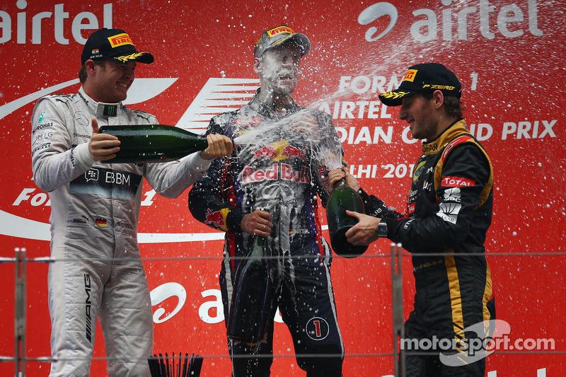 10 (2013) GP de India Segundo lugar