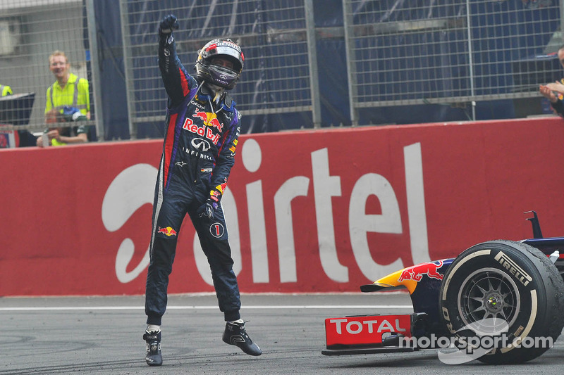 Sebastian Vettel, campeón del mundo 2013
