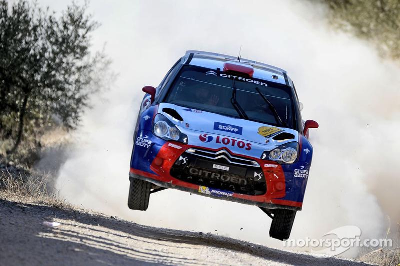 Роберт Кубіца та Мачек Баран, Citroën DS3 WRC