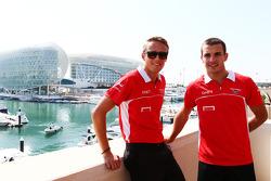 Max Chilton and Jules Bianchi, Marussia F1 Team