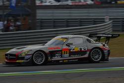 #11 Gainer Mercedes-Benz SLS AMG GT3: Katsuyuki Hiranaka, Bjorn Wirdheim
