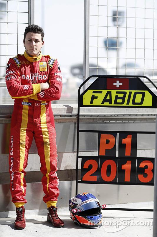campeão de 2013 Fabio Leimer